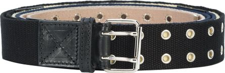 Y / Project eyelet detail buckle belt