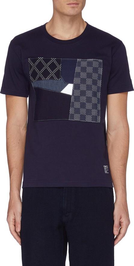 FDMTL Boro square patchwork T-shirt
