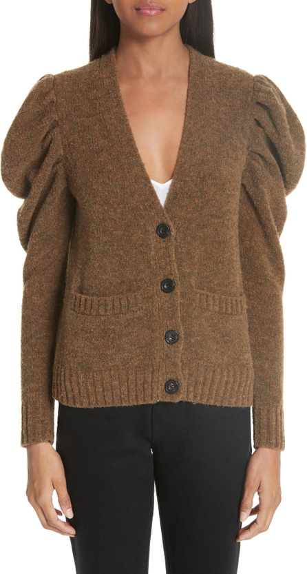 Co Full Sleeve Merino Wool Blend Cardigan