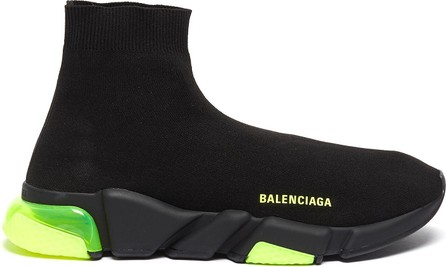Balenciaga 'Speed' vapour sole knit slip-on sneakers