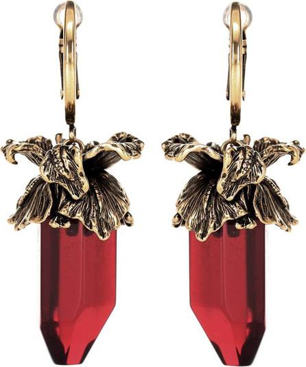 Alexander McQueen Iris pendant earrings