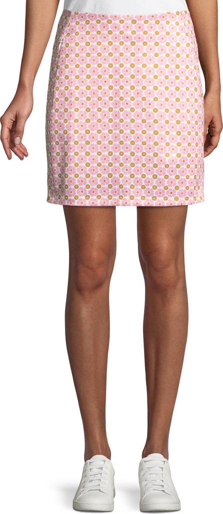Tory Sport Printed A-Line Golf Skirt