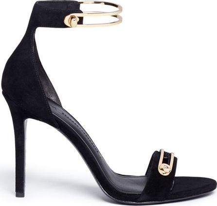 Stella Luna 'Stella' turnlock bar ankle strap suede sandals