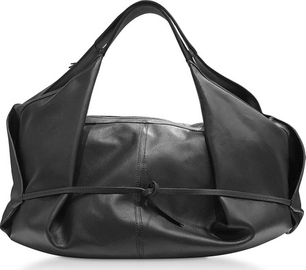 3.1 Phillip Lim Black Leather Luna Medium Slouchy Hobo Bag