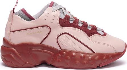 Acne Studios 'Manhattan Nappa' colourblock leather sneakers