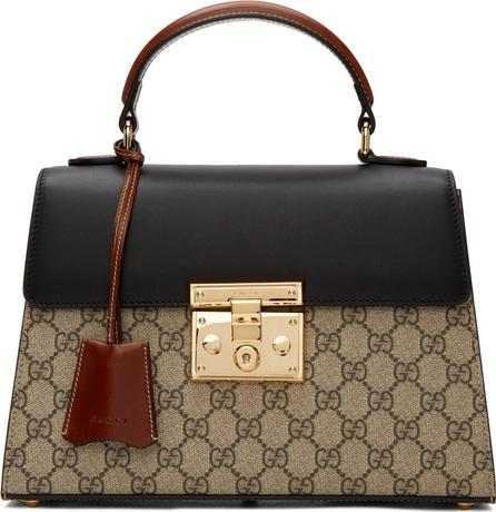Gucci Multicolor GG Supreme Padlock Bag