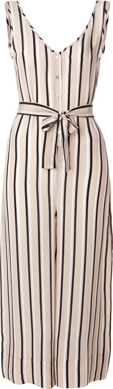 Asceno Striped tailored jumpsuit