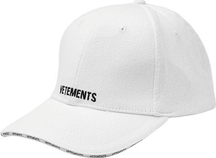 Vetements Baseball Cap