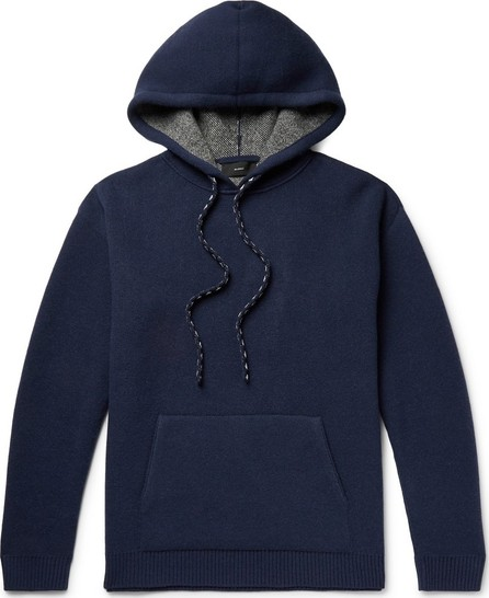 Alanui Intarsia Wool and Cashmere-Blend Hoodie
