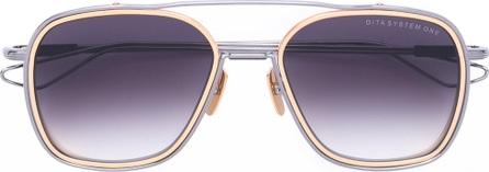 DITA gradient square sunglasses