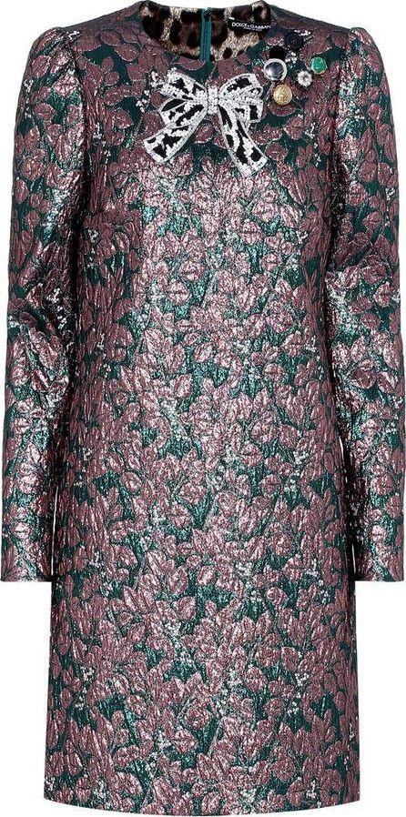 Dolce & Gabbana Lamé dress