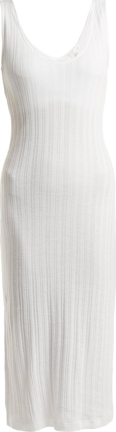 SKIN Rashisa ribbed-knit pima-cotton dress
