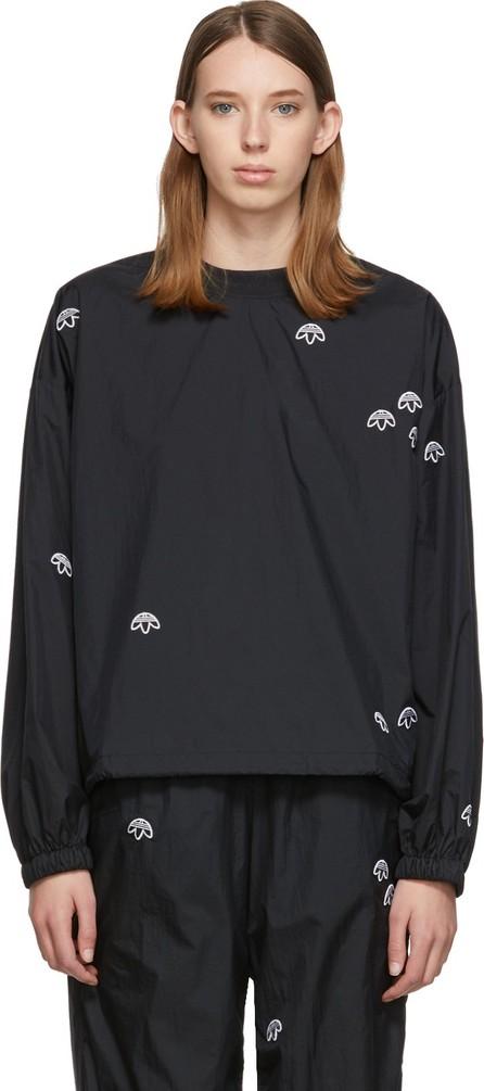 Adidas Originals by Alexander Wang Black AW Crew Sweatshirt