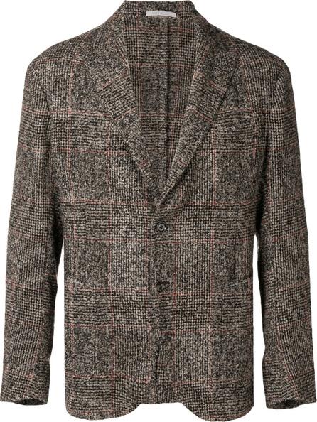 Eleventy Checked button blazer