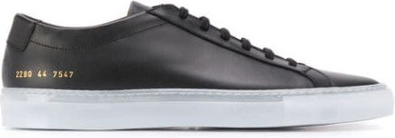 Common Projects Logo print lace-up sneakers