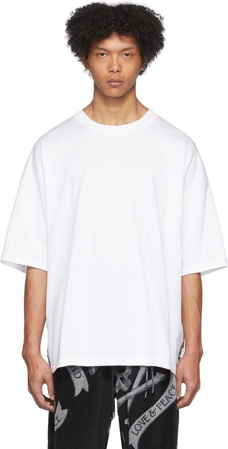 Mastermind World White Skull Tape T-Shirt