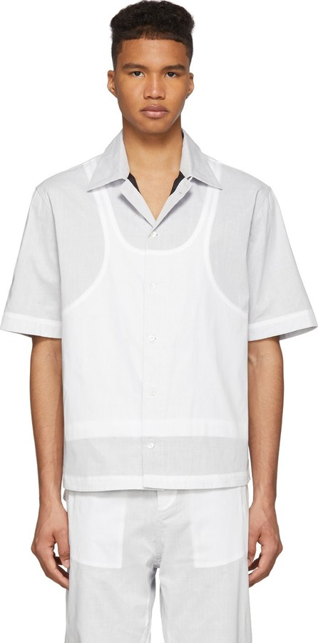 Craig Green White Ghost Short Sleeve Shirt