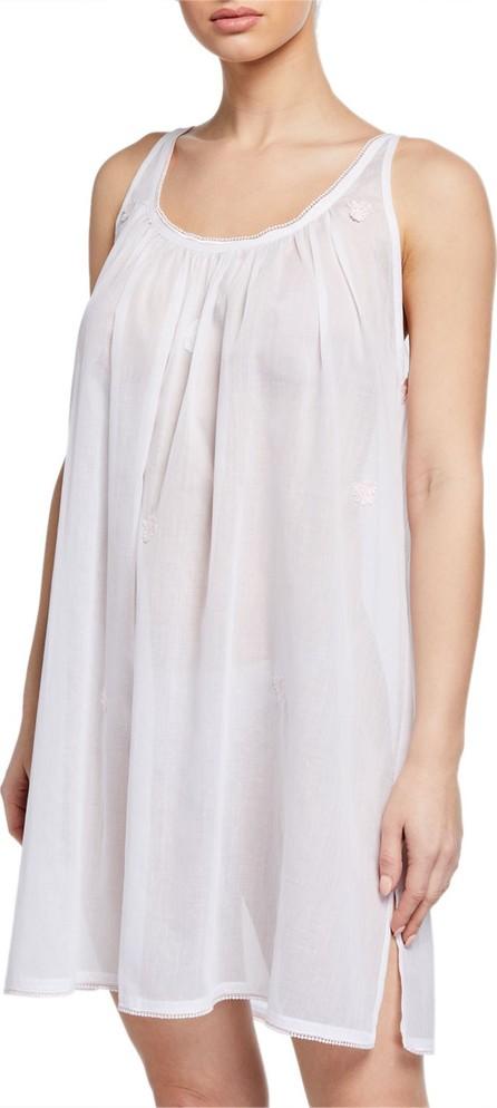 Celestine Saphira Scoop-Neck Sleeveless Babydoll Nightgown