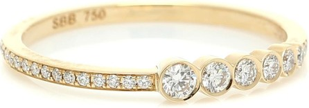 Sophie Bille Brahe Pleine de Pavé 18kt gold and diamond ring