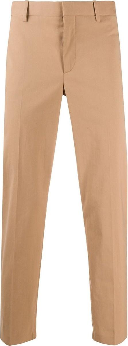 Neil Barrett Mid-rise tapered-leg trousers