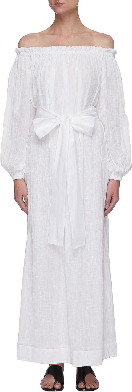 Kalita Pegasi belted beach gown
