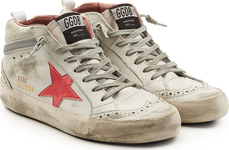 Golden Goose Deluxe Brand Mid Star Leather Sneakers
