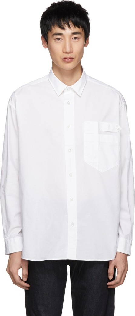 HUGO White Eamonn Lab Shirt