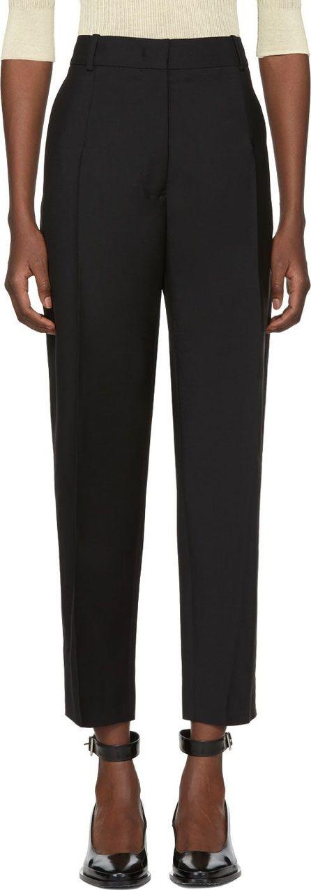 Jil Sander Black Enea Trousers