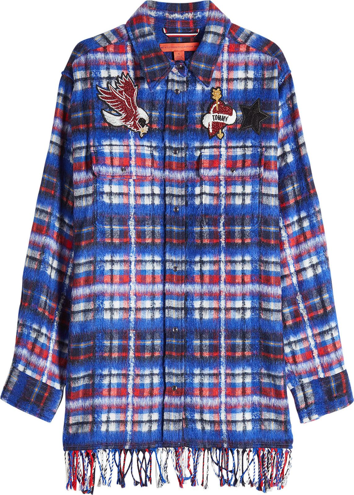 Hilfiger Collection - Printed Shirt with Appliqués