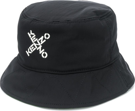 KENZO Cross-over logo bucket hat