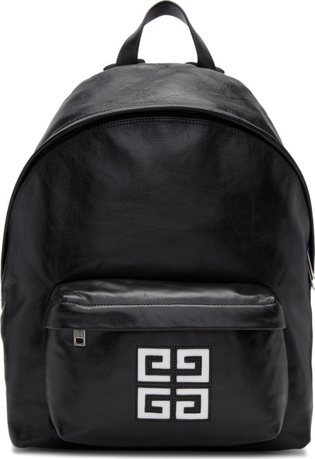 Givenchy Black Leather 4G Backpack