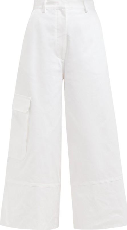 2 Moncler 1952 Wide-leg cotton cargo trousers
