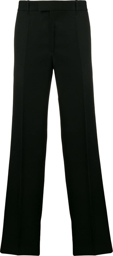Helmut Lang Wide straight fit tailored trousers
