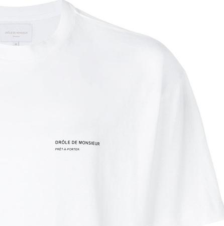 Drôle De Monsieur NFPM logo back T-shirt