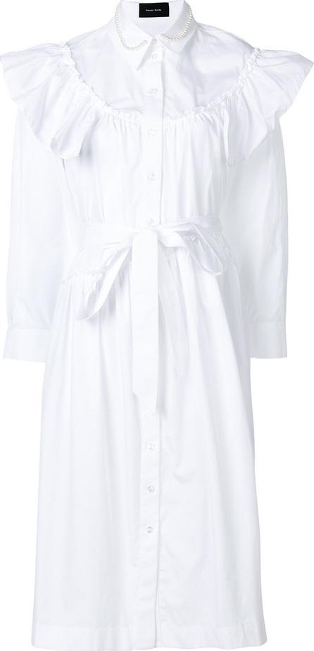 Simone Rocha Ruffled shirt dress