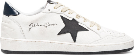 Golden Goose Deluxe Brand White and black Ball Star canvas sneakers