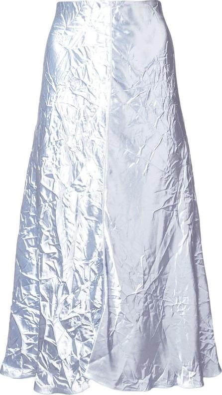 Nina Ricci Crinkle-effect flared skirt