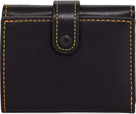 COACH 1941 Trifold Leather Snap Wallet