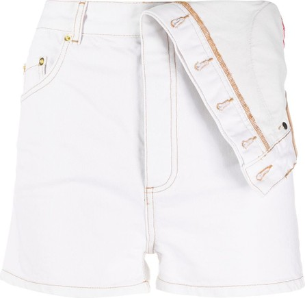 Y/Project Inside-out effect high waist shorts