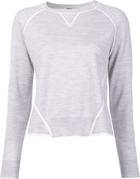 Adam Lippes contrast detail jumper