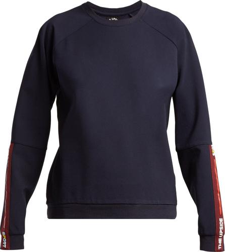 The Upside Mia cotton-jersey sweatshirt