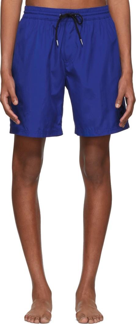 Burberry London England Blue Guildes Logo Swim Shorts