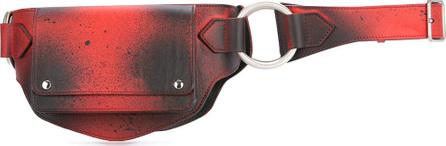 Calvin Klein 205W39NYC Paint splattered waist belt