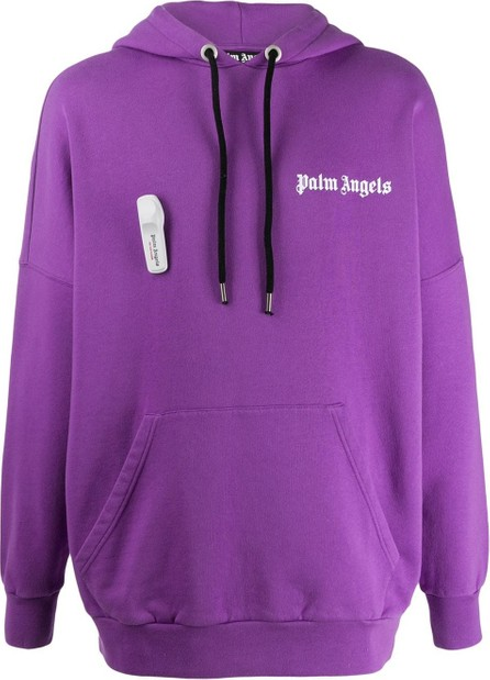 Palm Angels Alarm detail hoodie