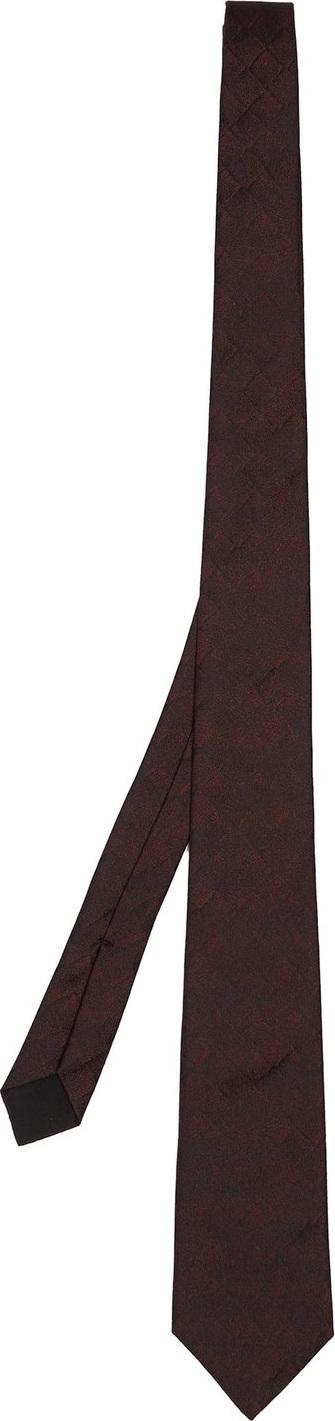 Bottega Veneta Intrecciato silk tie