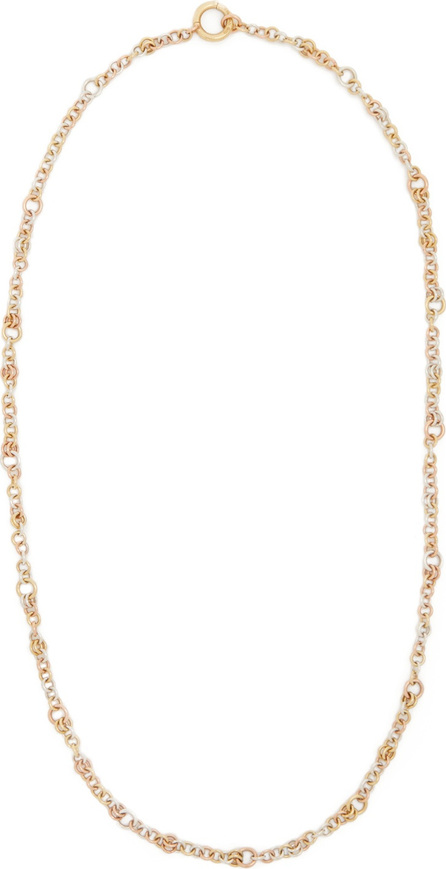 Spinelli Kilcollin Gravity yellow-gold, rose-gold & silver necklace