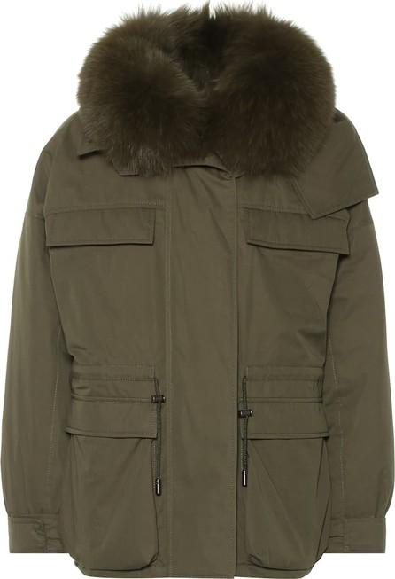 Army By Yves Salomon Fur-trimmed parka