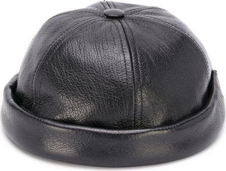 Junya Watanabe MAN Leather brimless cap