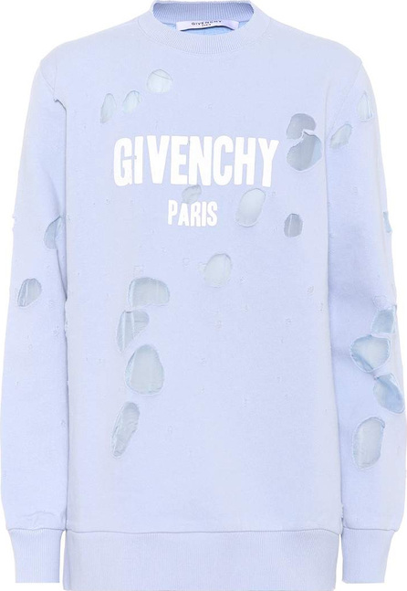 Givenchy Distressed cotton sweater