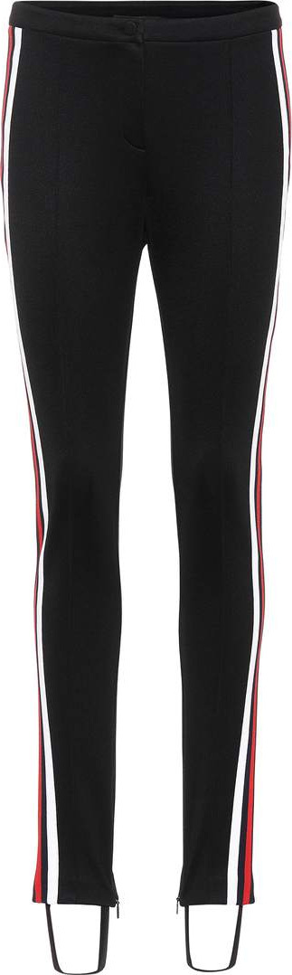 Gucci Striped stirrup trousers